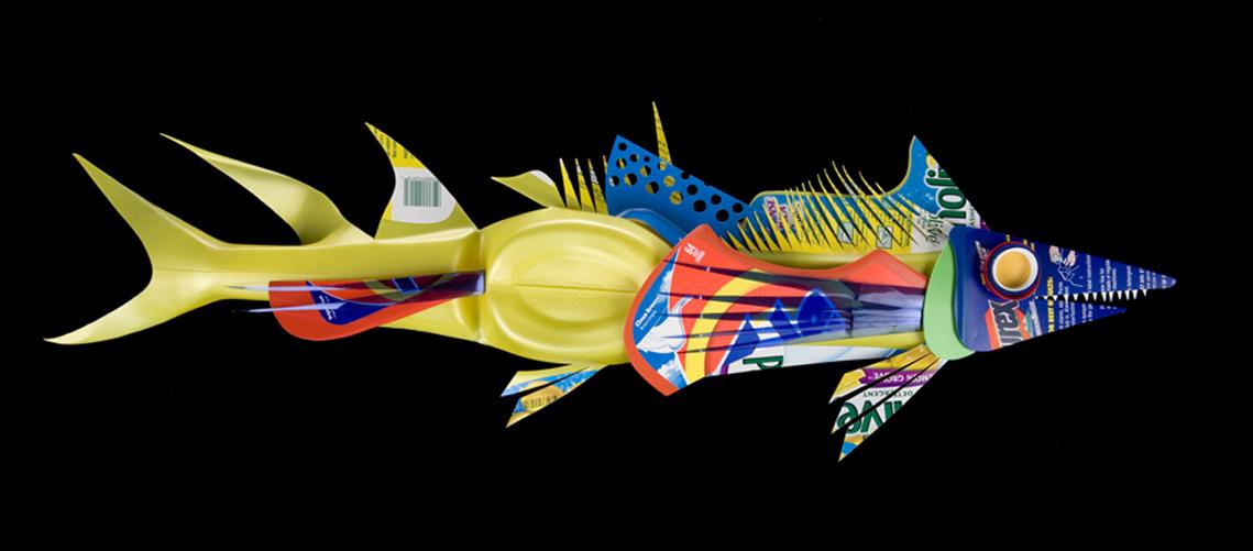 Рыбки из пластиковых бутылок, картинки, фото.